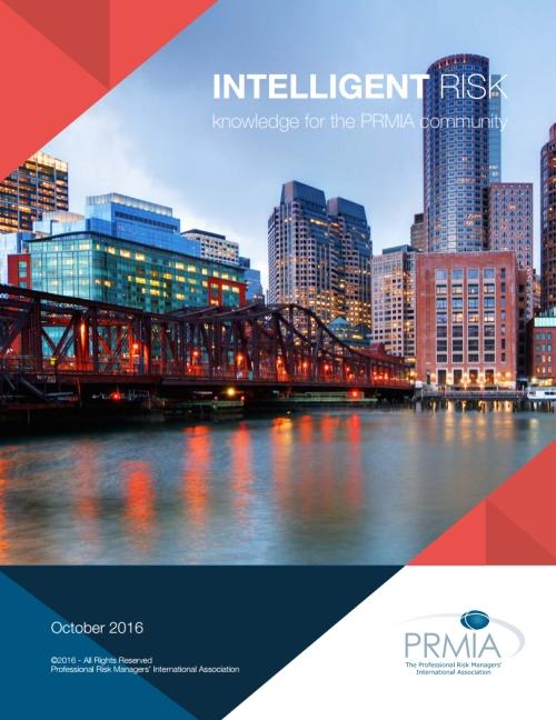 Intelligent Risk - PRMIA - October 2016