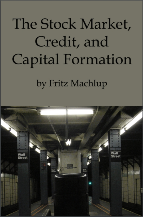 eBook Stock Market Credit Capital Formation
