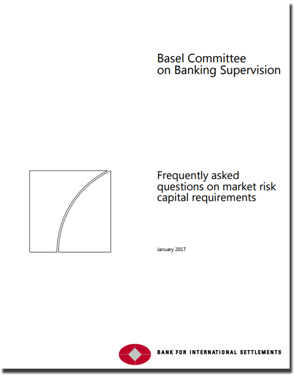BIS Frequently asked questions on market risk capital requirements