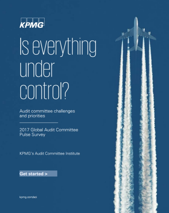 KPMG Global Audit Committee Pulse Survey Cover