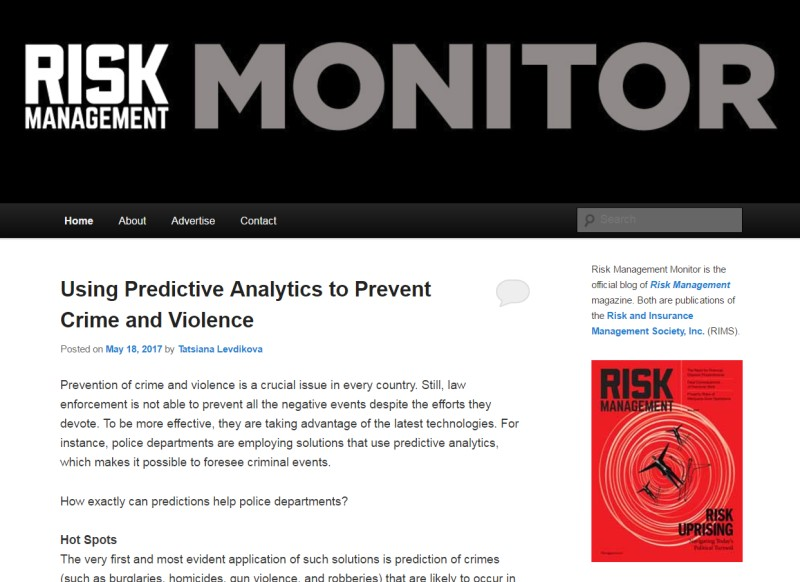 Risk Management Monitor