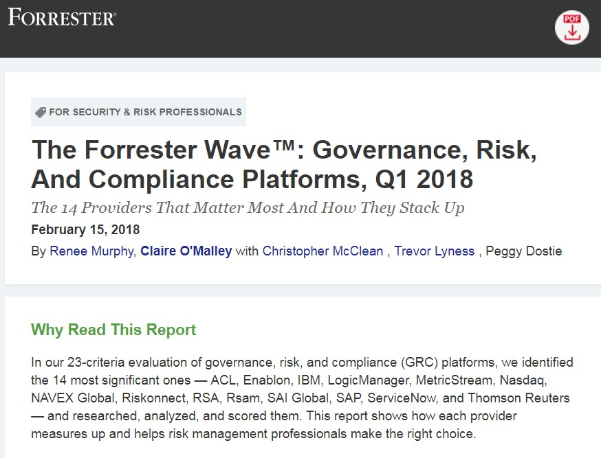 14 Recommended Governance, Risk, And Compliance Platforms